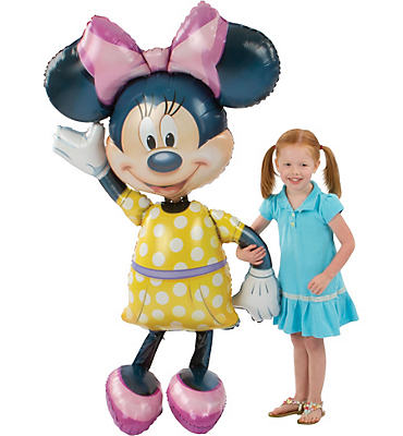 Giant Gliding Minnie Mouse Balloon 54in