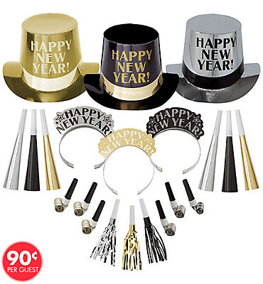 Opulent Affair New Years Party Kit For 100