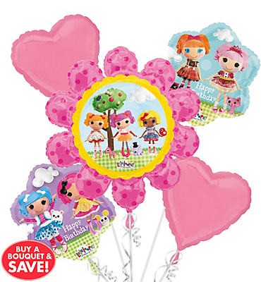 Lalaloopsy Balloon Bouquet 5pc