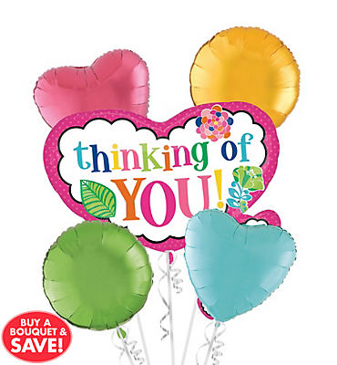 Thinking of You Balloon Bouquet 5pc