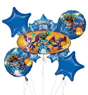 Skylanders Balloon Bouquet 5pc - Giant