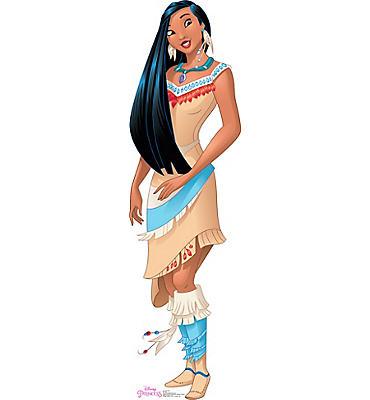 Pocahontas Life-Size Cardboard Cutout
