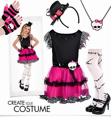 Girls' Frankie Stein Costume