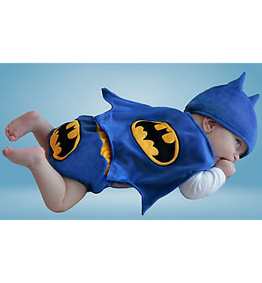 Baby Diaper Cover Batman Costume - Classic Batman