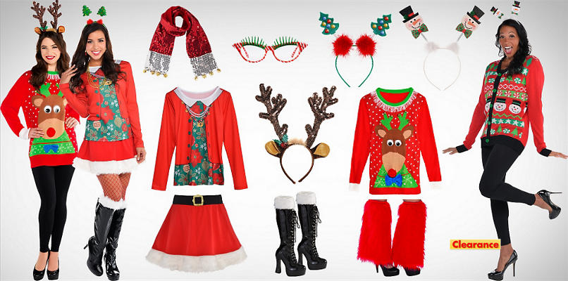 Women's Ugly Christmas Shirts & Accessories