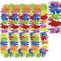 Rainbow Floral Leis 36in 25ct