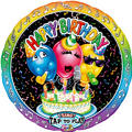 Happy Birthday Singing Foil Balloon 28in