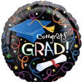 Foil Grad Celebration Graduation Balloon