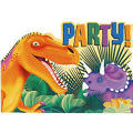 Prehistoric Dinosaurs Postcard Invitations 8ct