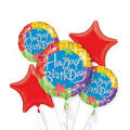 Birthday Blitz Balloon Bouquet 5pc