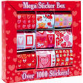 Valentine's Day Stickers 9 Rolls