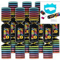 Colorful New Years Crackers 8ct