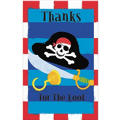 Pirate's Treasure Thank You Notes 8ct