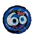 60th Birthday Balloon - Round Oh No!