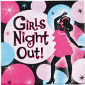 Girls Night Out Cocktail Napkins 16ct
