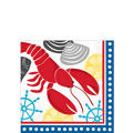 American Summer Lobster Fest Beverage Napkins 16ct