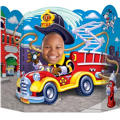 Fire Truck Photo Prop 25in x 37in