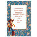 Woody on Cowboy Border Custom Invitation