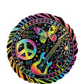 Happy Birthday Balloon - Neon Doodle