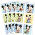 Mickey Mouse 1st Birthday Stickers 4 Sheets