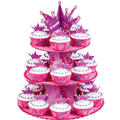 Princess Cupcake Stand Holds 24