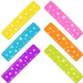 Multi Color Barrettes 6ct
