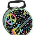 Neon Doodle Metal Box