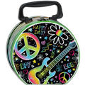 Neon Doodle Tin Box