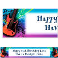 Rock Star Custom Banner