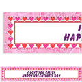 Key To Your Heart Custom Valentines Day Banner