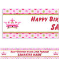 Little Princess Custom Birthday Banner 6ft