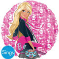 Foil Barbie Singing Balloon 28in