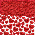 Red Hearts Confetti 2 1/2oz