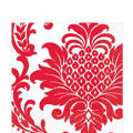 Red Damask Lunch Napkins 16ct