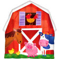 Foil Barnyard Fun Balloon 20in x 22in