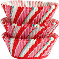 Candy Cane Baking Cups 75ct