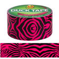 Pink Zebra Print Duck Tape 10yds