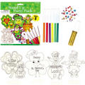 St. Patricks Day Stand Up Craft Party Pack 8ct