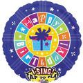 Happy Birthday Balloon - Singing Unbelievable
