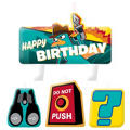 Phineas and Ferb Birthday Candles 4ct