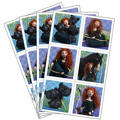 Brave Stickers 4 Sheets