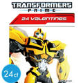 Transformers Valentines Day Cards 24ct