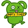 Uglydoll Furry Invitations 8ct