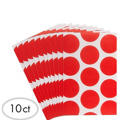 Red Dot Paper Favor Bags 10ct