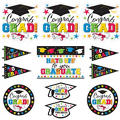 Hats Off Graduation Cutouts 12ct