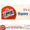 Los Angeles Clippers Custom Banner 6ft