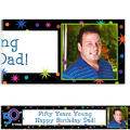 The Party Continues 50th Birthday Custom Photo Banner 6ft