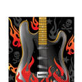 Rock On Lunch Napkins 16ct