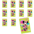 Minnie Mouse Notepads 48ct