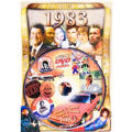 Year 1983 DVD Greeting Card
